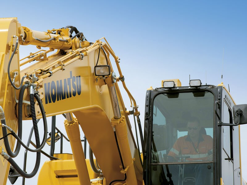 Product feature: Komatsu's Intelligent Machine Control