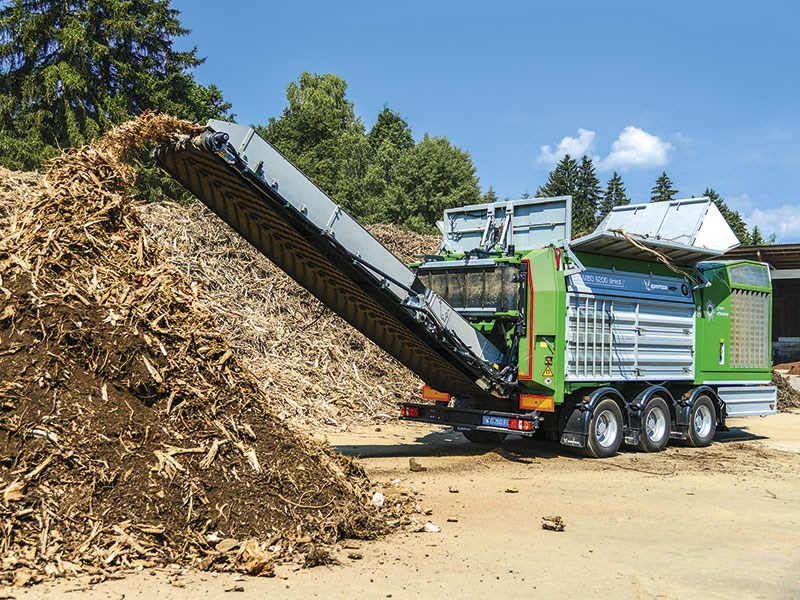 Product feature: Komptech shredding and screening solutions