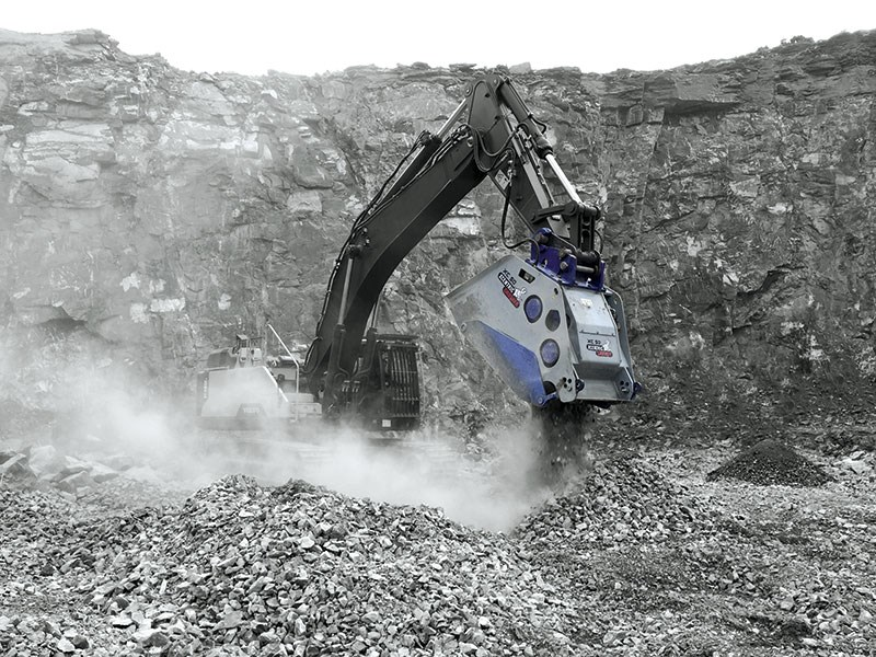 Product feature: Xcentric crusher