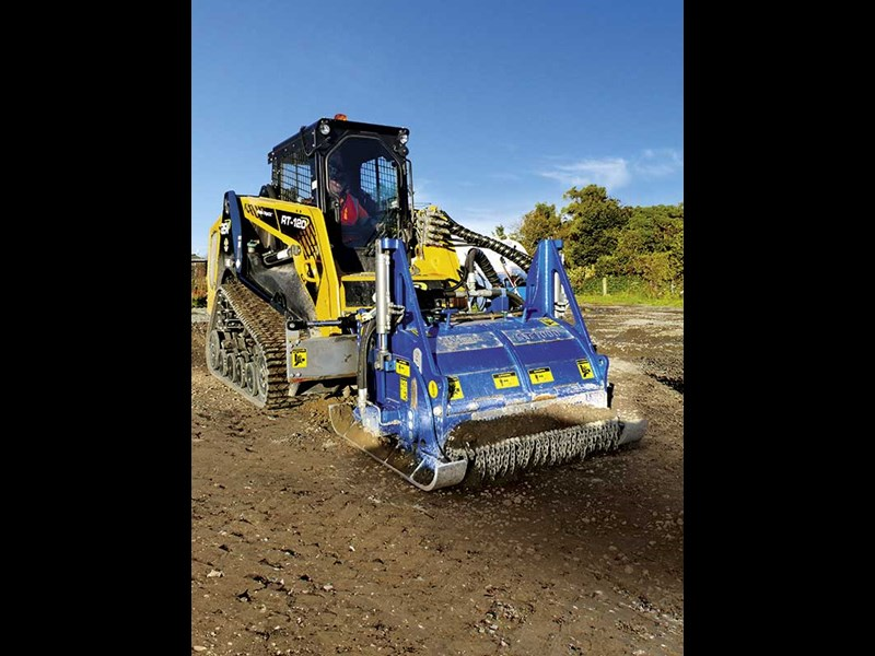 ASV RT120 compact loader