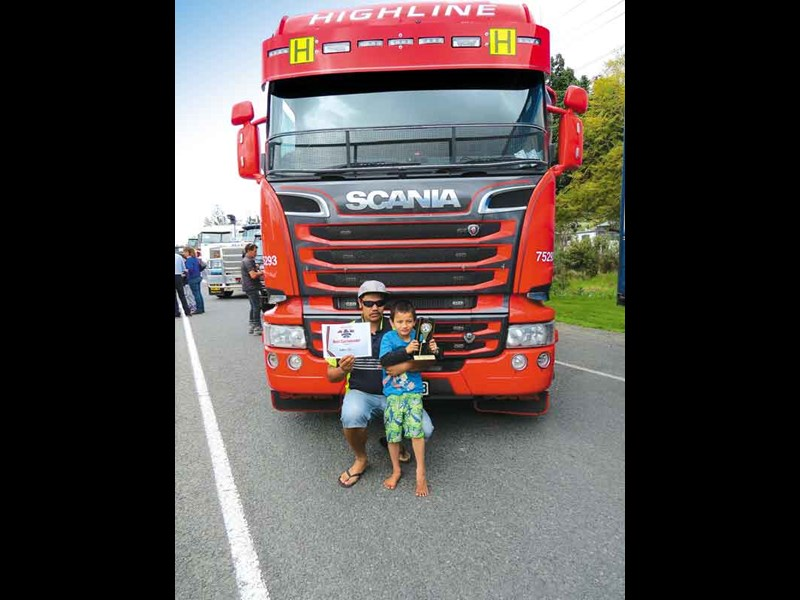 Best Curtainsider Jackson Owens Scania