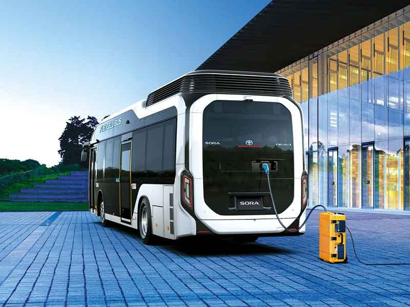 Toyota Sora FC bus goes on sale
