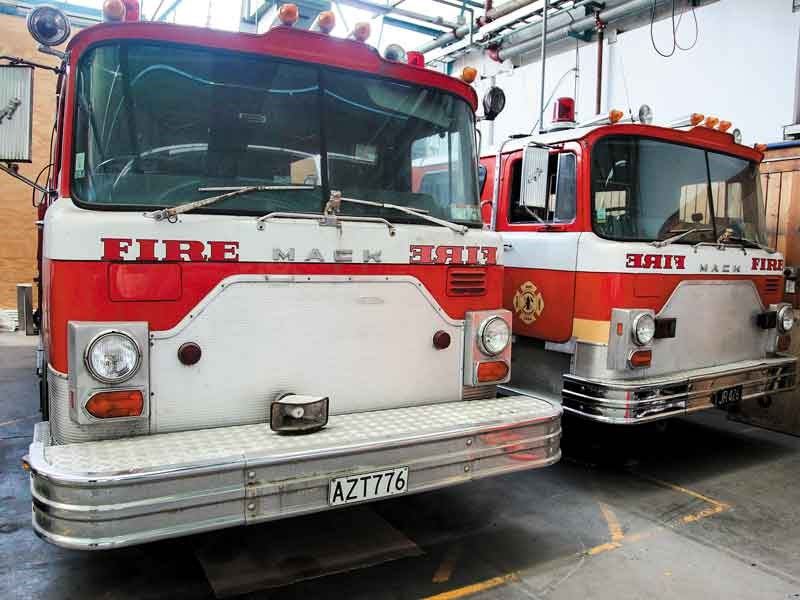 1982 Mack CF and 1978 Mack CF, Wellington Fire Museum