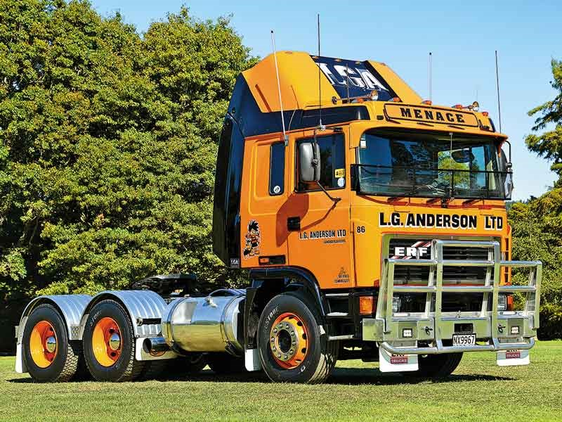 L G Anderson's stunningly restored E-Series ERF