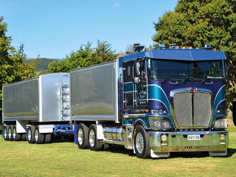 Bill Hammond's superb K200 Kenworth won the Best Company Owned Truck award