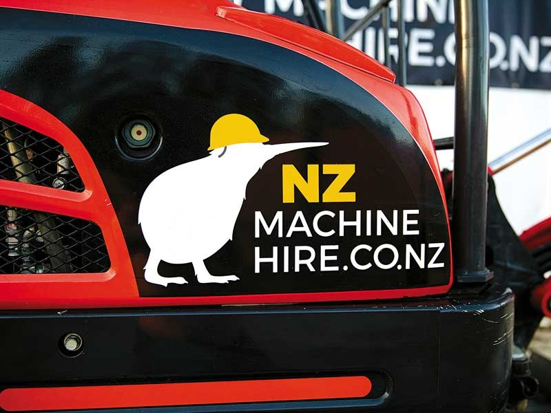 NZ Machine Hire business feature