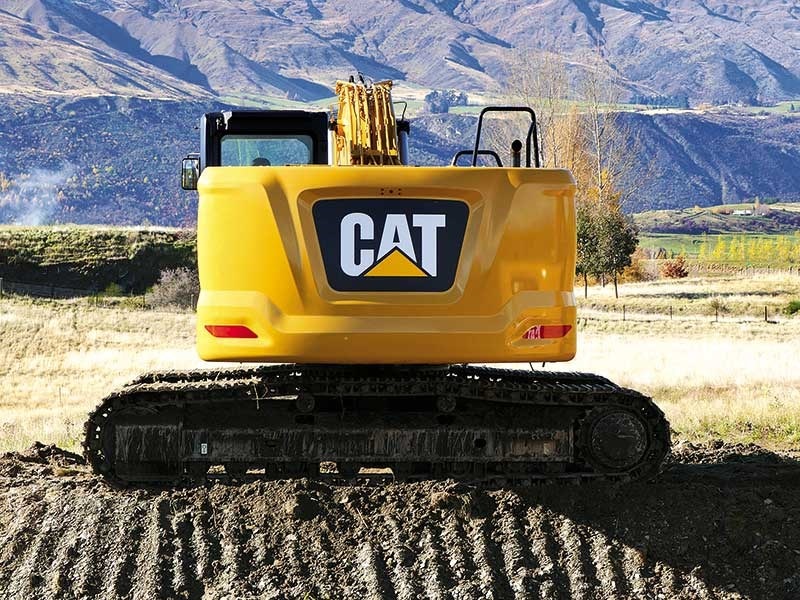 Caterpillar 323 test