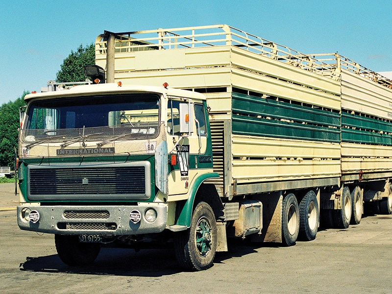 Old School trucks Waitaki transport