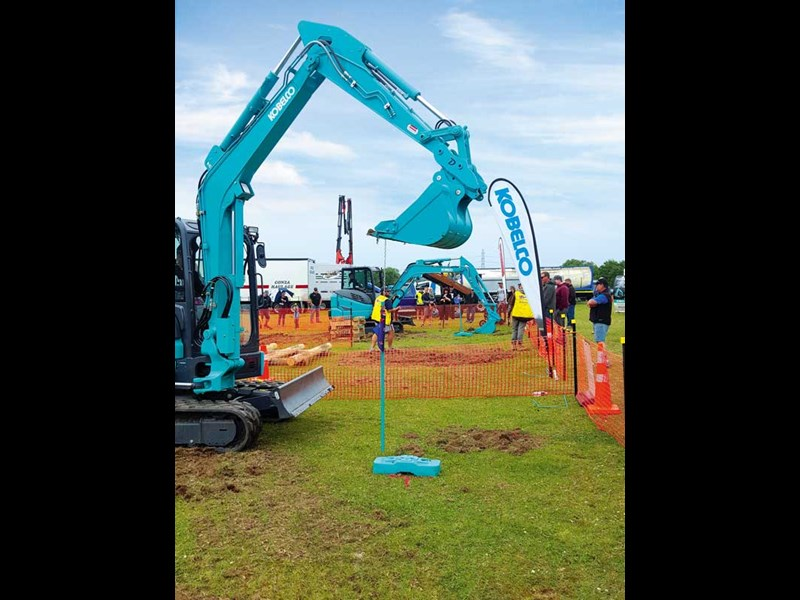 Gear up for the Mimico Excavator Competition 2018