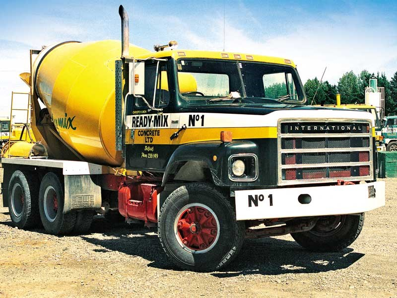 A S Line International was once the number one truck of Christchurch Ready Mix as seen in Dean Middleton s Old School Trucks spread