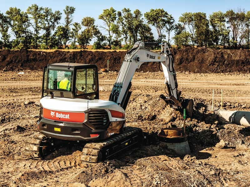 Bobcat introduces the E85 excavators
