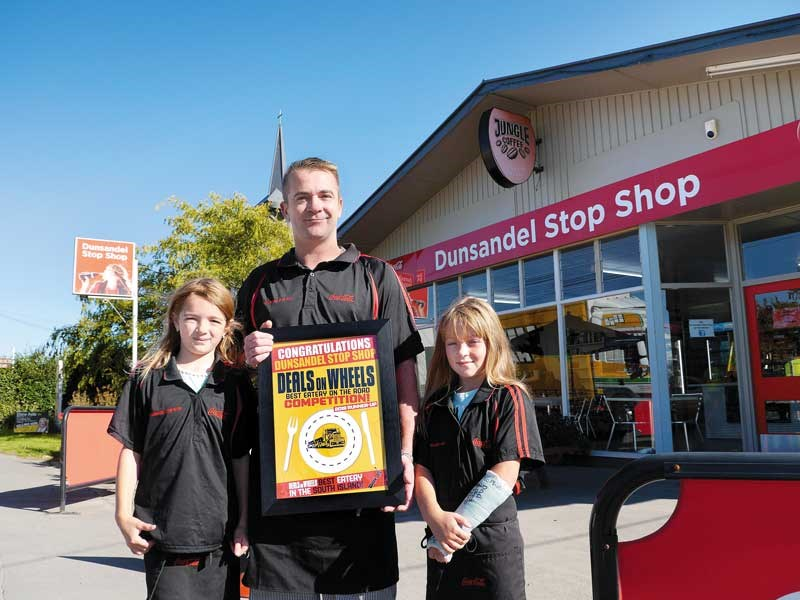 Dunsandel Stop Shop wins Best Eatery on the Road runner up