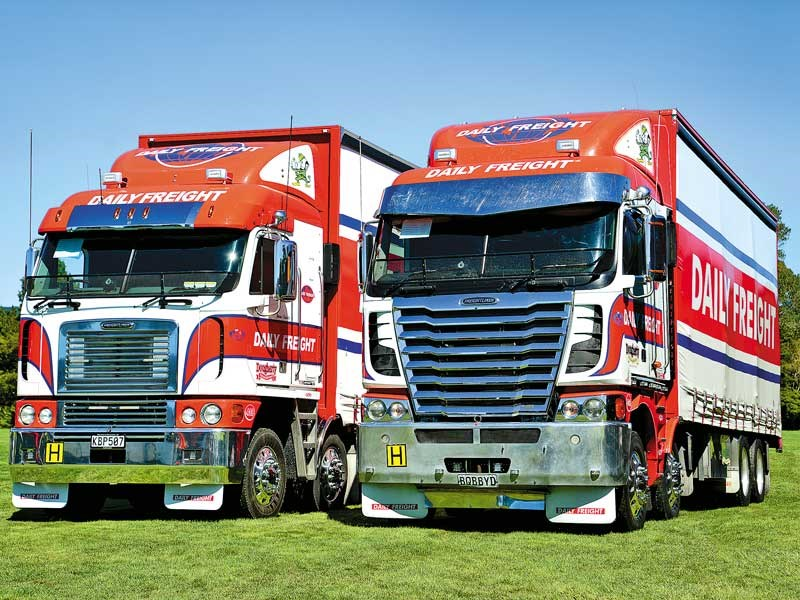 End of an era Freightliner NZ announces the current generation Argosy model will not be replaced