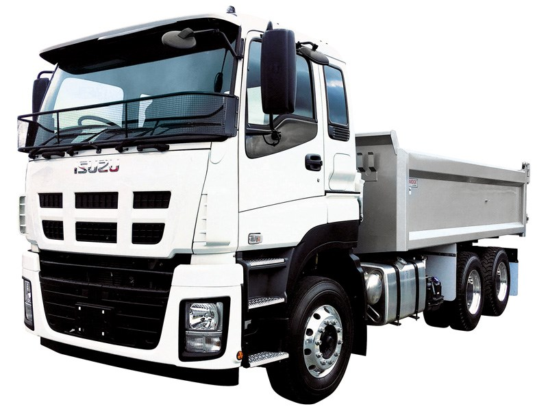 Isuzu NZ were about to expand their CYZ tipper range with 500 plus horsepower offering