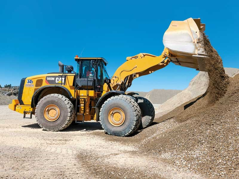 KB Contracting Quarries Ltd s big Cat 90M ups teh ante in terms of capacity and power