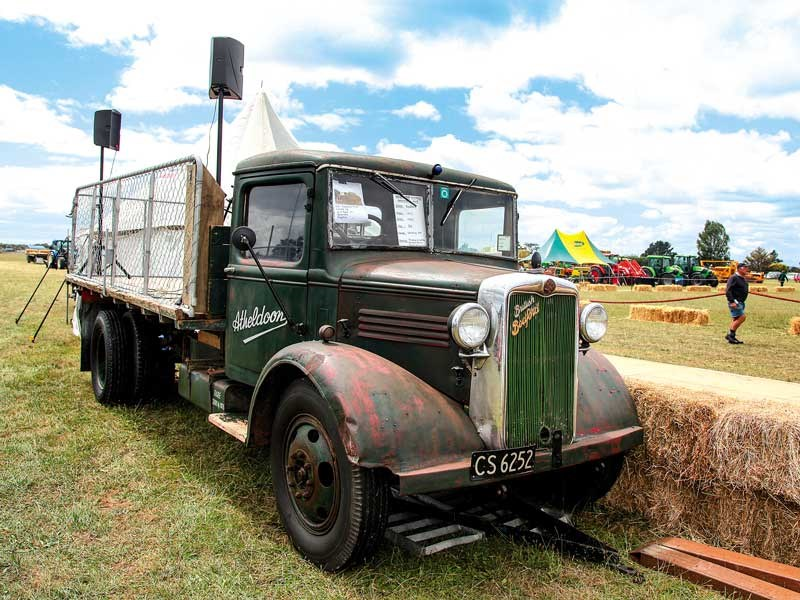 Machinery of a bygone era came out for the Vintage Harvest Machinery Rally in Carterton