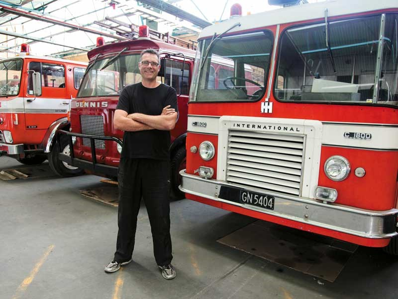 The Wellington Fire Museum stemed from Matt Silver s boyhood passion for fire engines