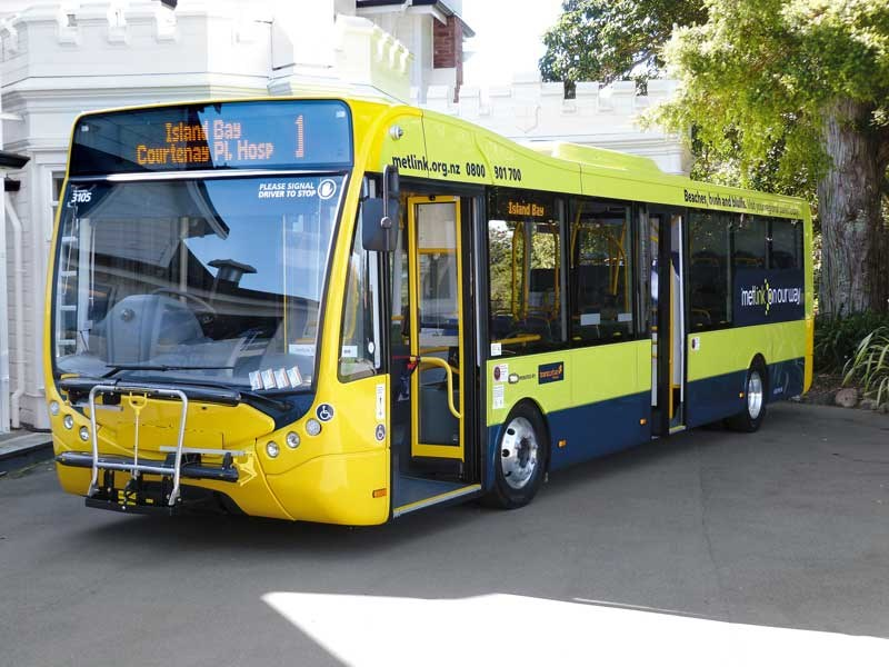 Wellington city gets bright shiny new Optare Metrocity buses