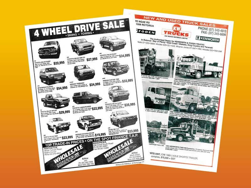 Blast from the past—DOW marks it's 300th issue by looking back at past trucks prices