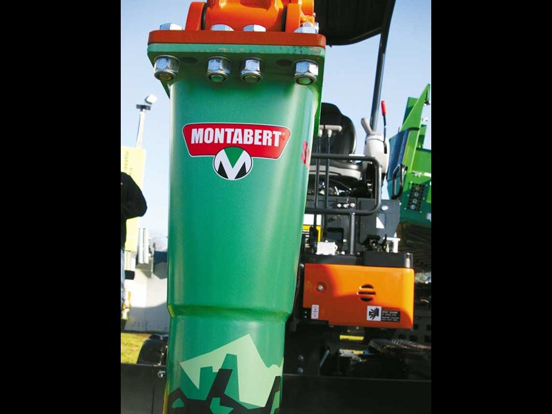 Montabert breaking equipment