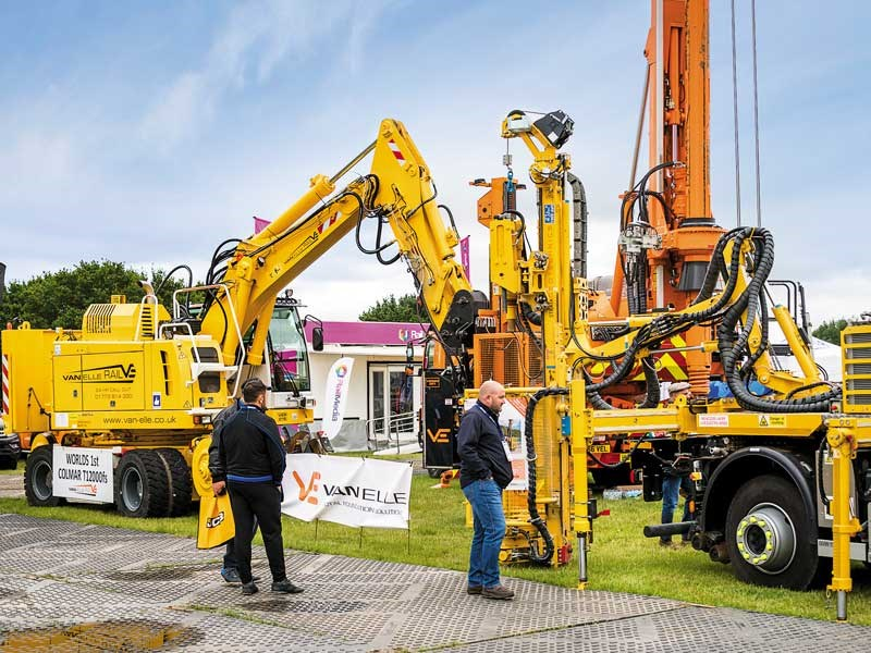 Plantworx construction machinery show 2019 4