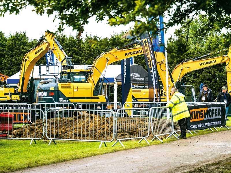 Plantworx construction machinery show 2019 6