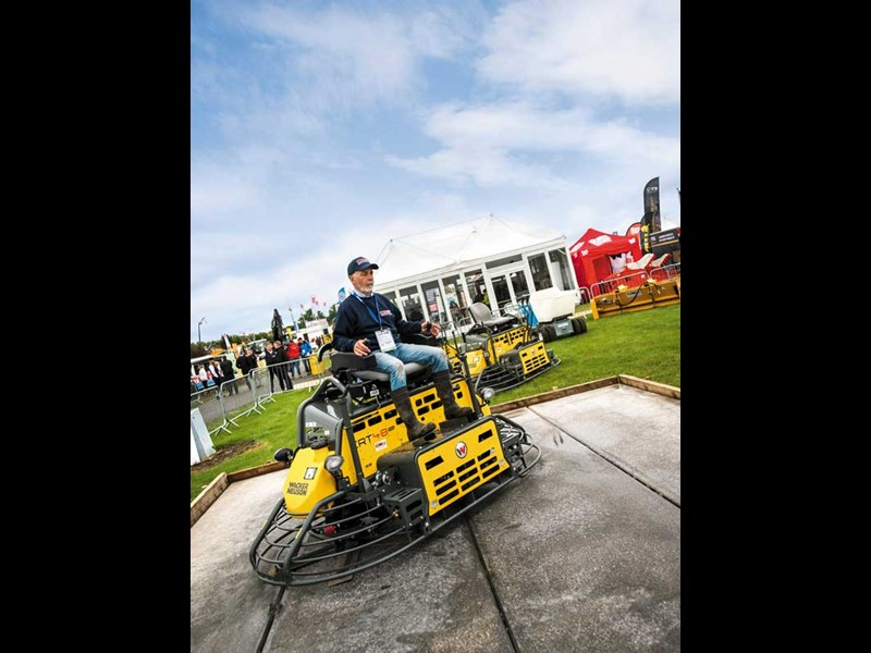 Plantworx construction machinery show 2019 9
