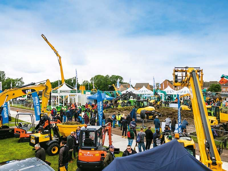 Plantworx construction machinery show 2019
