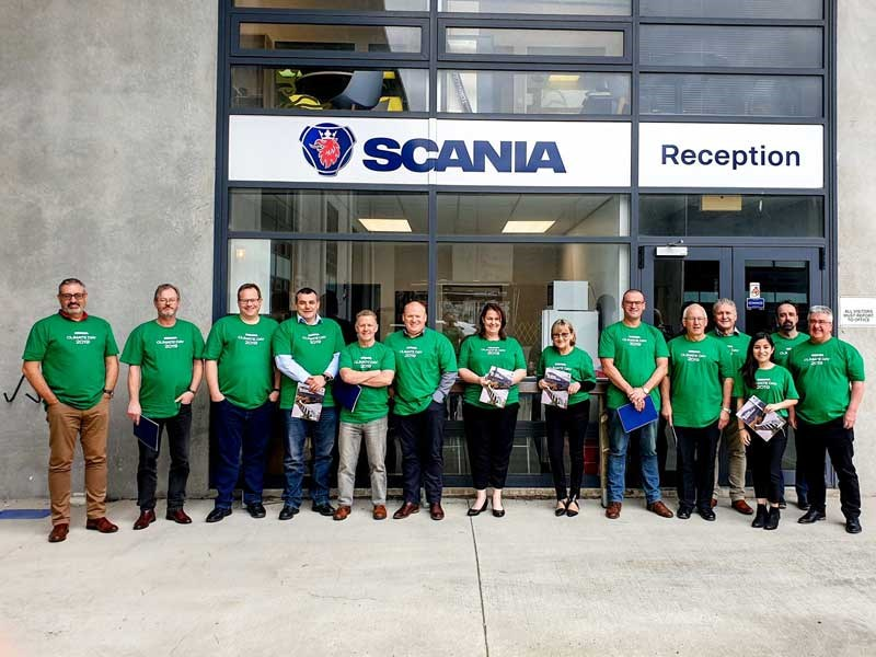 Scania NZ plays part in Climate Day 3
