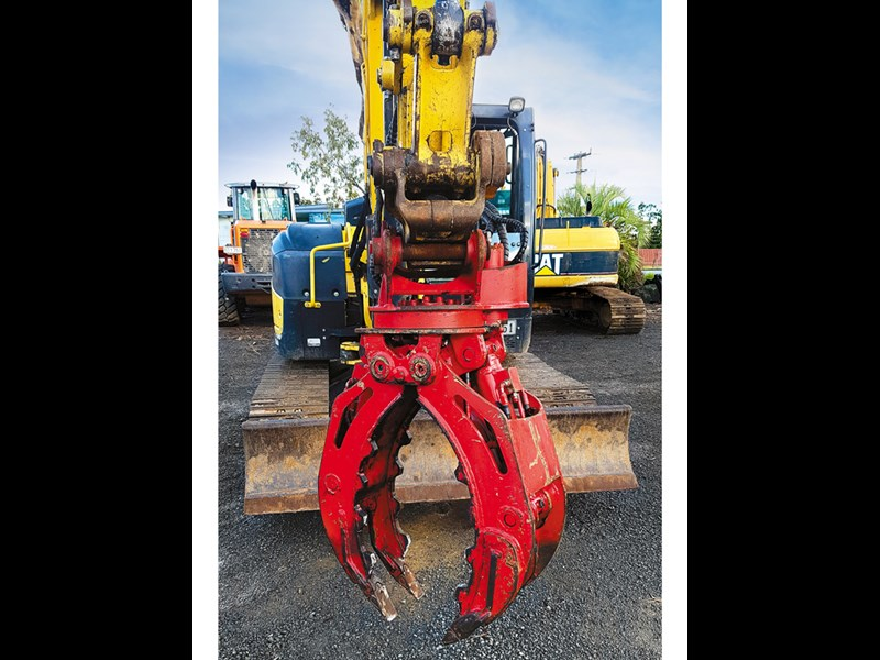 Robur hire Stone Grab Fixed grapple Main Photo