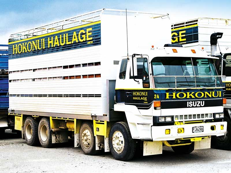 Old School Trucks: Hokonui Haulage