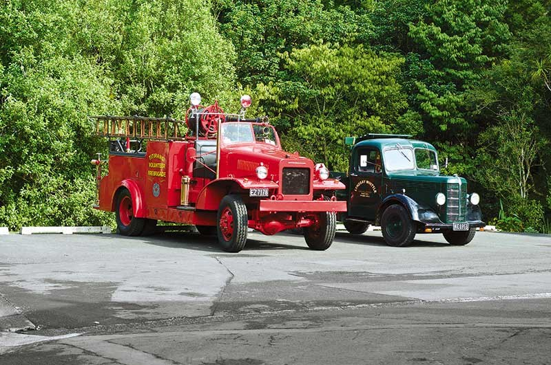 Photos: restored 1942 International fire truck