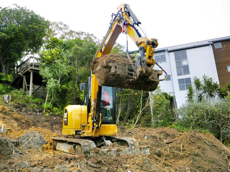 Cat 305.5E2 CR excavator review