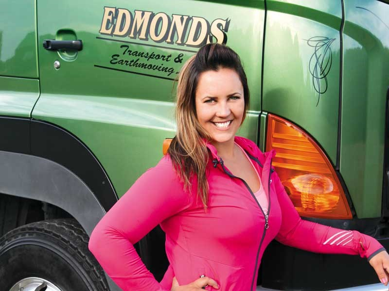 On the road with trucker Amy Edmonds