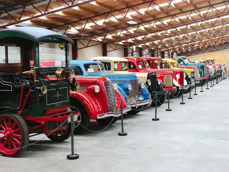 A visit to the Bill Richardson Transport World