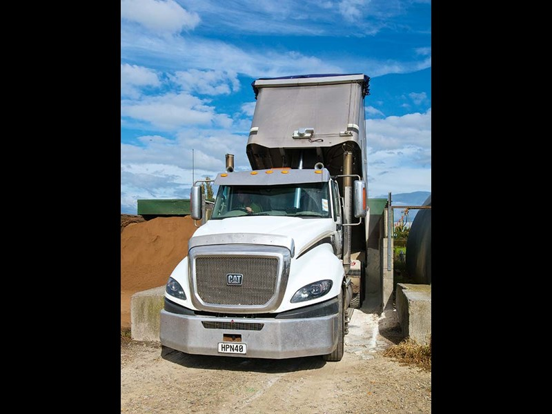 Wilson Sand and its new Cat CT630 truck