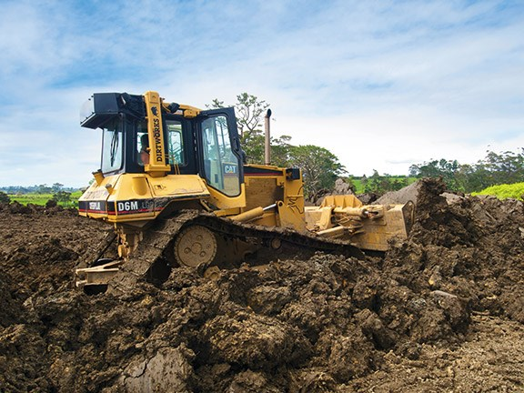 Bulldozer review: Caterpillar D6M LGP