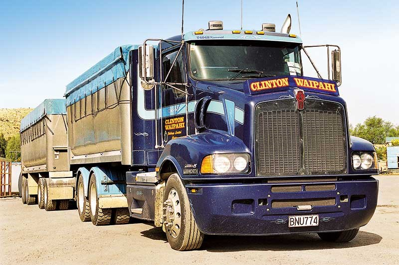 Old school trucks: Clinton Waipahi Holdings