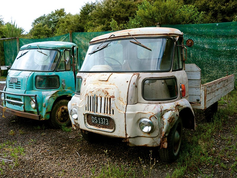 Road trip: picking up vintage trucks in Canterbury