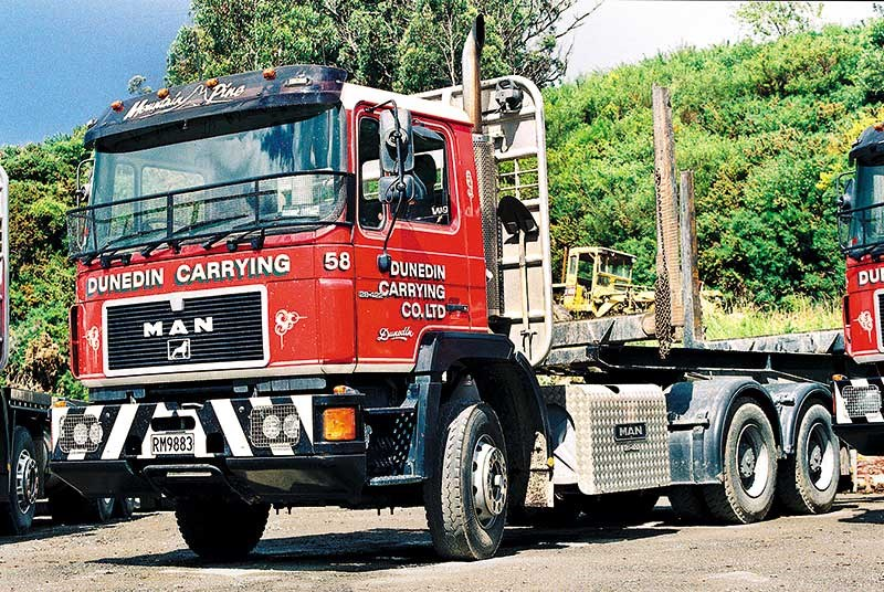 Old school trucks: Dunedin Carrying Company
