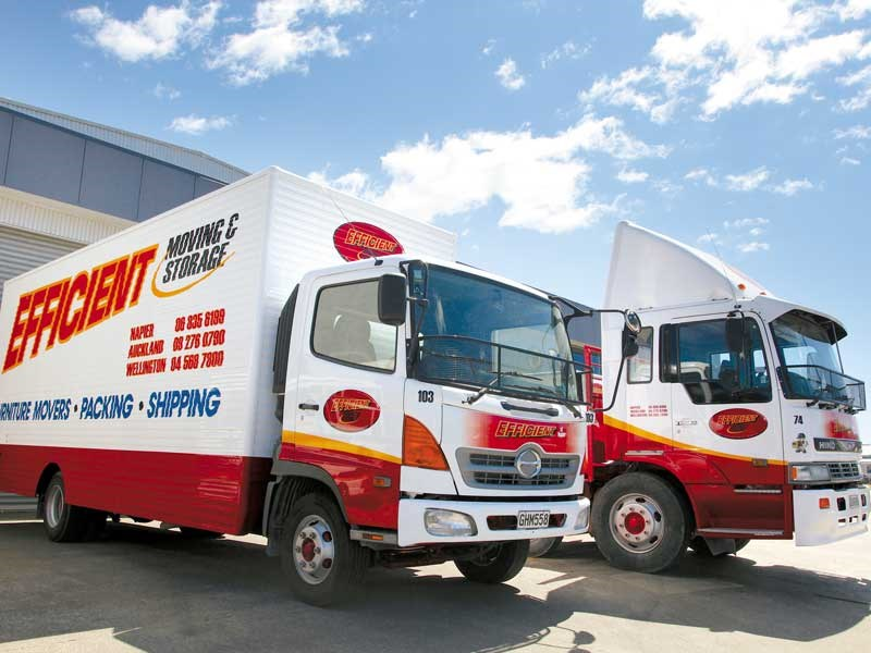 Efficient Moving & Storage trucking in Napier