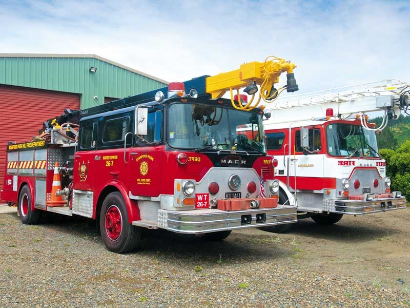 Hot stuff: restored Mack CF685 fire truck