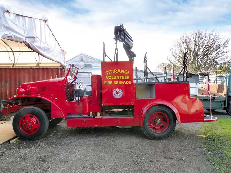 1942 International fire truck restoration: part 1