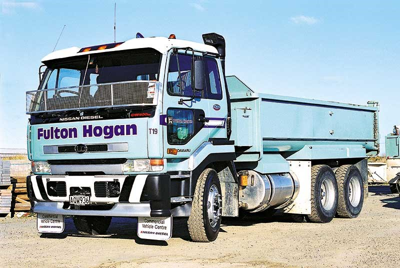 Old school trucks: Fulton Hogan (part 1)