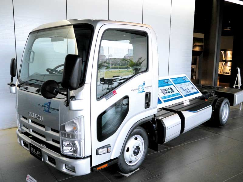 Isuzu Giga truck test drive (Japan trip part 2)