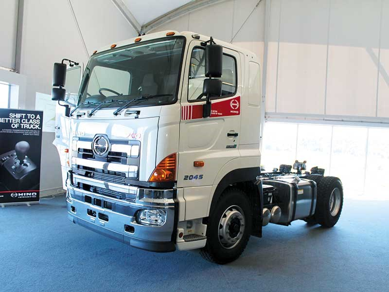 On the right track: Hino Track Day 2016
