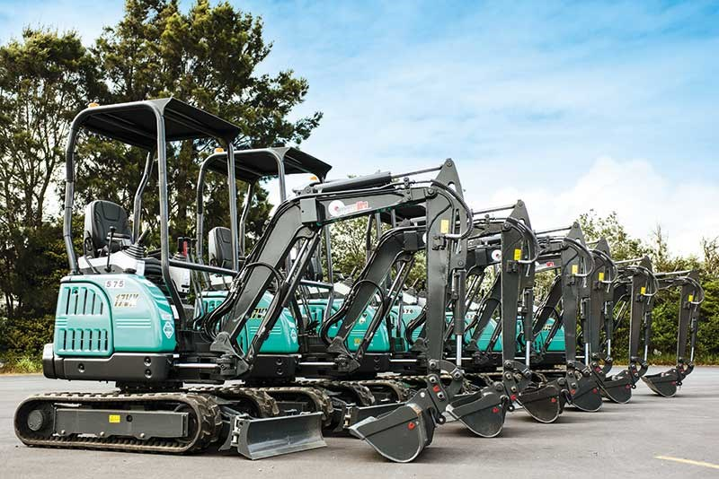 New IHI 25v4 excavator set to leave an impression