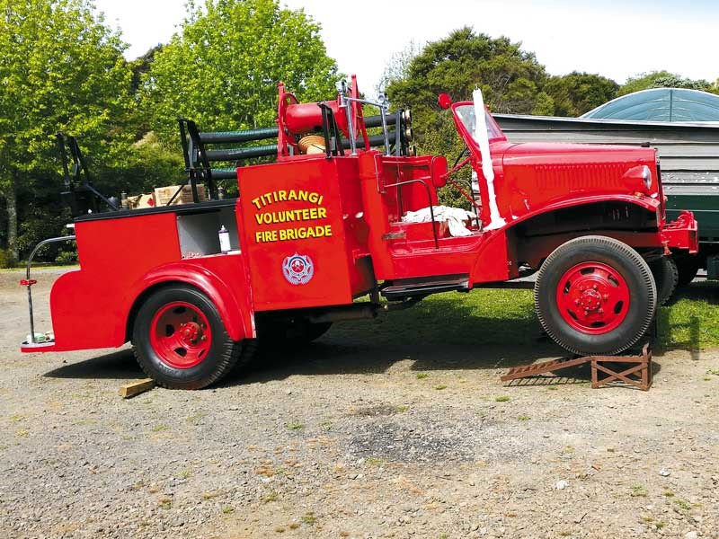 1942 International fire truck restoration: part 4