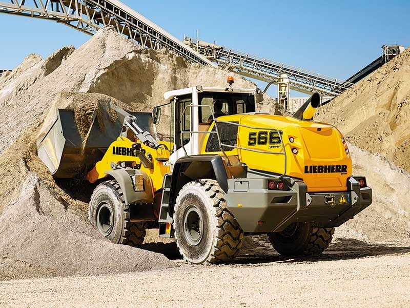 New Liebherr XPower wheel loaders