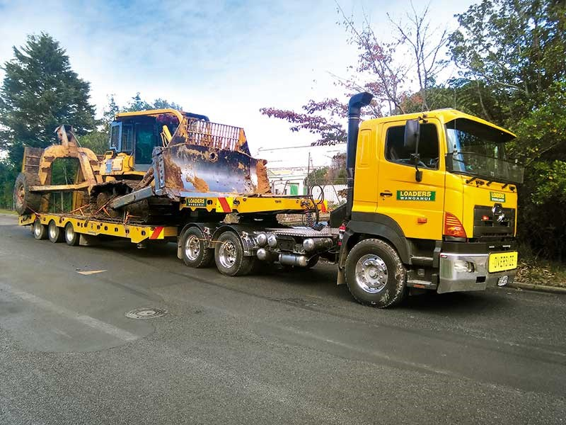 Loaders Wanganui's new hydro-excavation unit